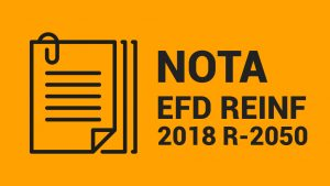 nota efd reinf